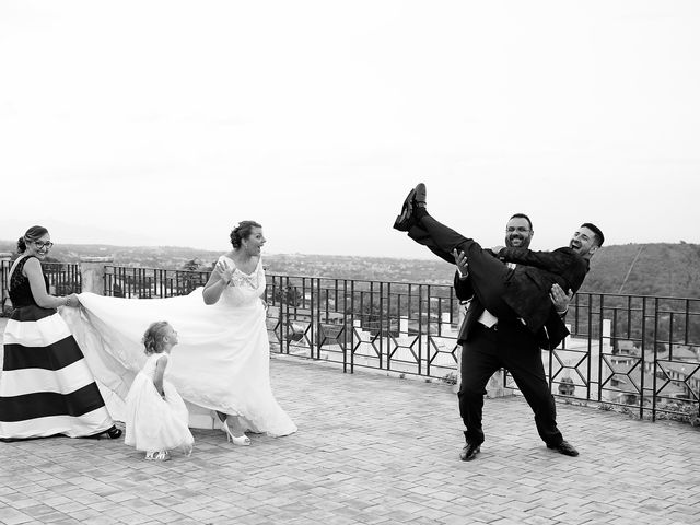 le nozze di Melinda e Gordon