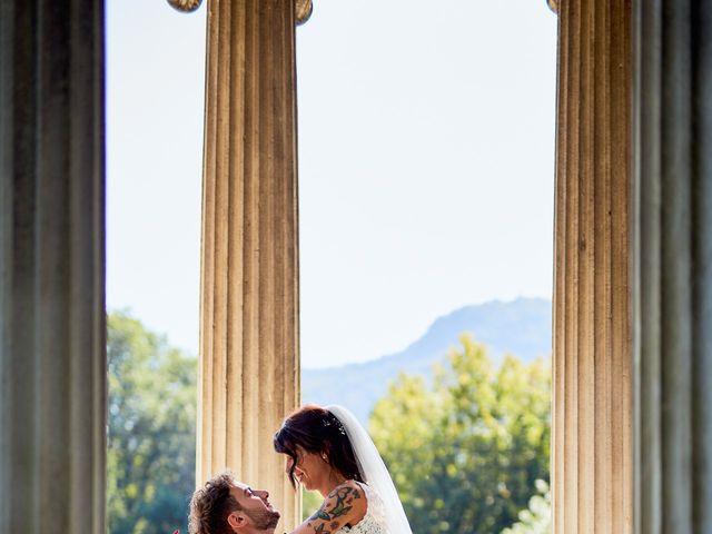 Il matrimonio di Davide e Laura a Lurate Caccivio, Como 30