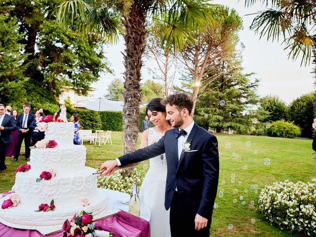 Il matrimonio di Davide e Laura a Lurate Caccivio, Como 44