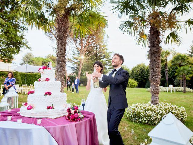Il matrimonio di Davide e Laura a Lurate Caccivio, Como 45