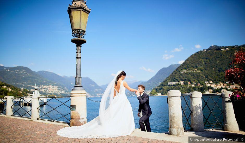 Il matrimonio di Davide e Laura a Lurate Caccivio, Como