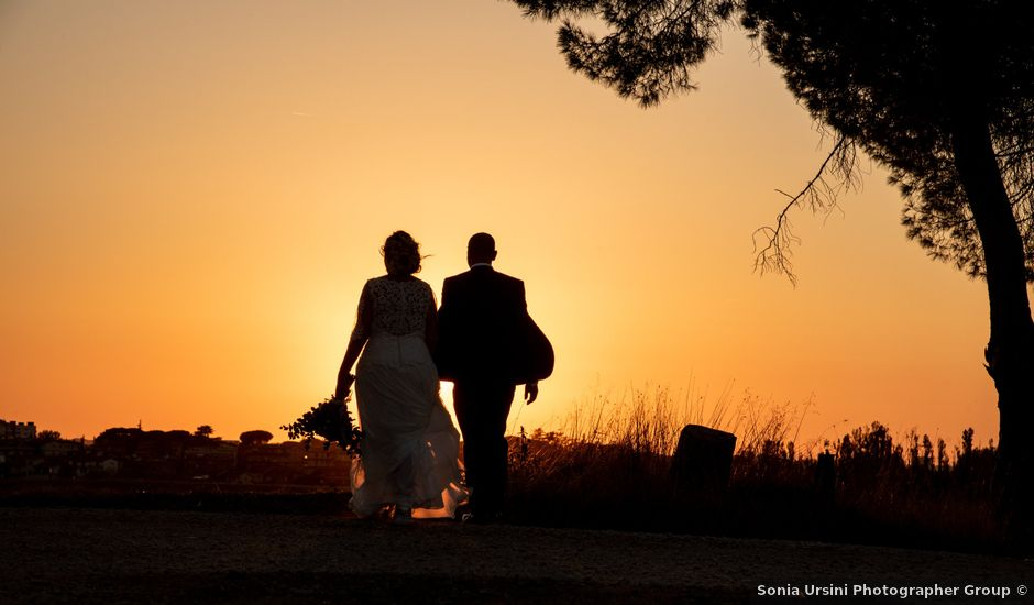 Il matrimonio di Helena e David a Roma, Roma