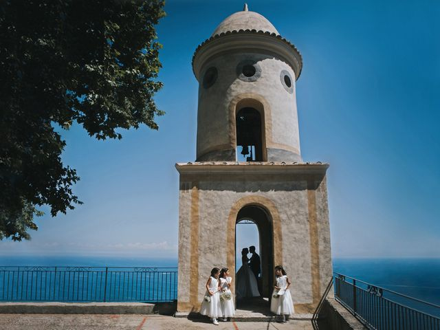 Il matrimonio di Marco e Valeria a Amalfi, Salerno 54