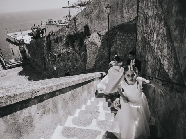 Il matrimonio di Marco e Valeria a Amalfi, Salerno 57