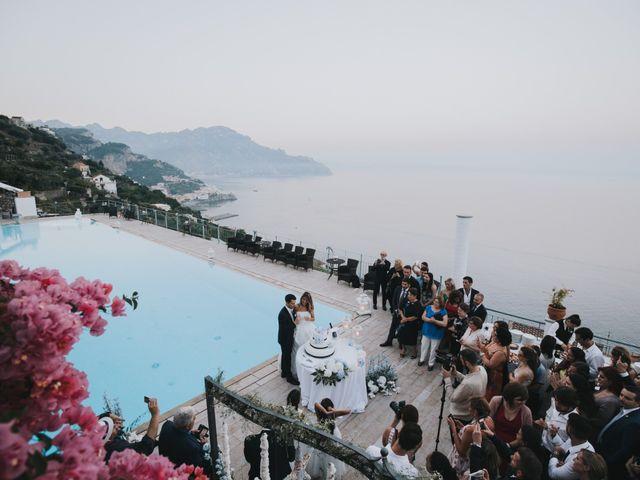 Il matrimonio di Marco e Valeria a Amalfi, Salerno 83