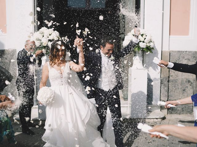 Il matrimonio di Matteo e Giuny a Sorrento, Napoli 1
