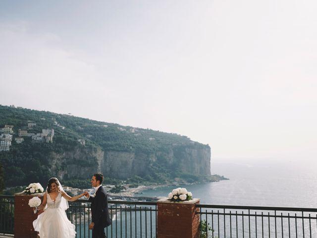 Il matrimonio di Matteo e Giuny a Sorrento, Napoli 25