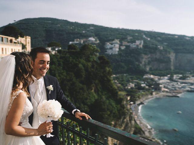 Il matrimonio di Matteo e Giuny a Sorrento, Napoli 28