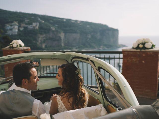 Il matrimonio di Matteo e Giuny a Sorrento, Napoli 30