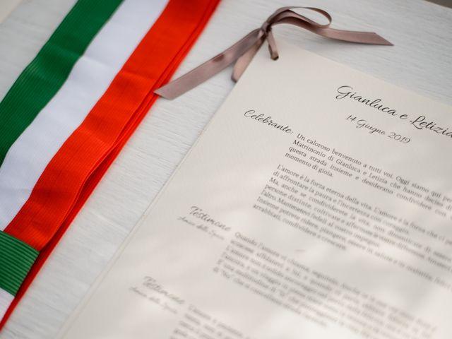 Il matrimonio di Gianluca e Letizia a Montespertoli, Firenze 11