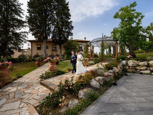 Il matrimonio di Gianluca e Letizia a Montespertoli, Firenze 18
