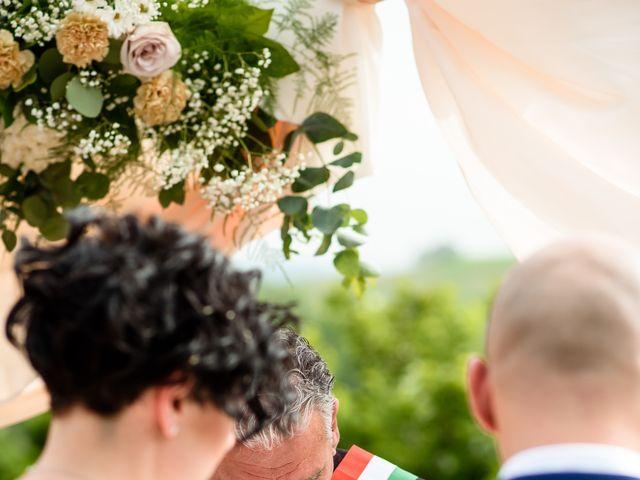 Il matrimonio di Gianluca e Letizia a Montespertoli, Firenze 19