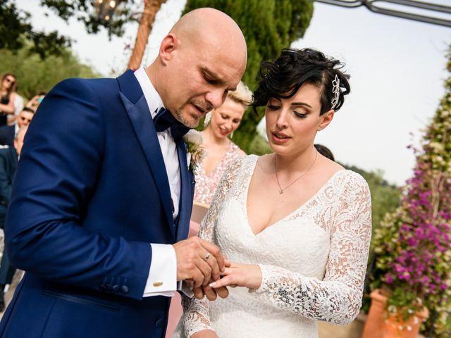 Il matrimonio di Gianluca e Letizia a Montespertoli, Firenze 21