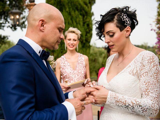 Il matrimonio di Gianluca e Letizia a Montespertoli, Firenze 22