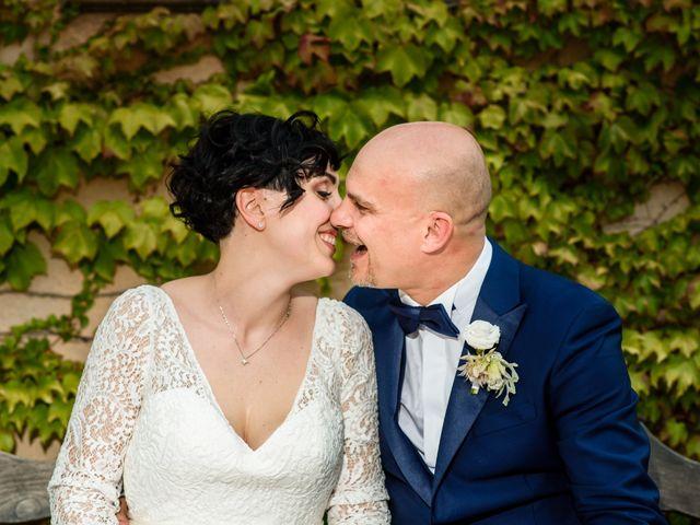Le nozze di Letizia e Gianluca