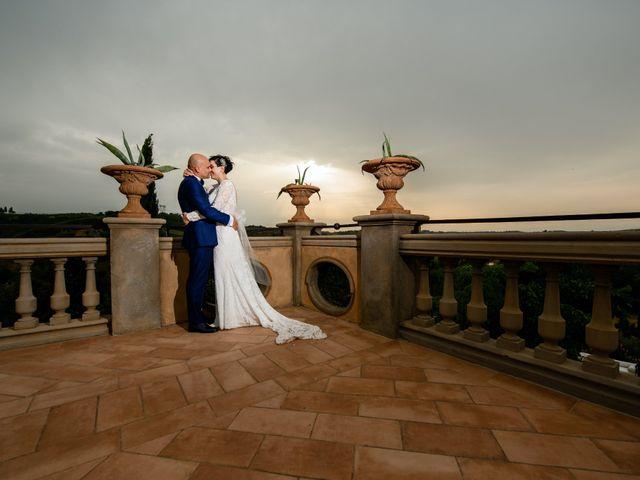 Il matrimonio di Gianluca e Letizia a Montespertoli, Firenze 32
