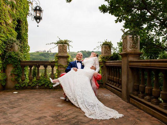 Il matrimonio di Gianluca e Letizia a Montespertoli, Firenze 35