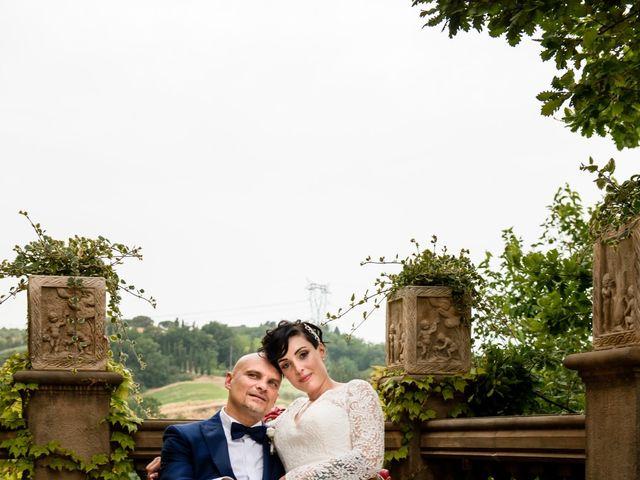 Il matrimonio di Gianluca e Letizia a Montespertoli, Firenze 36