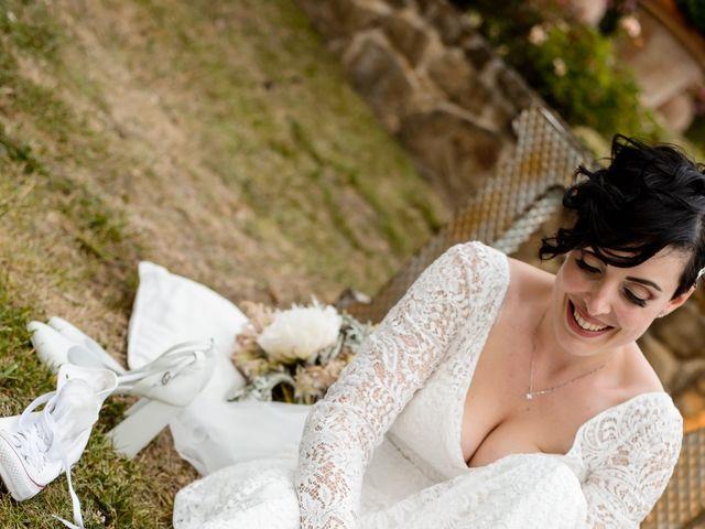 Il matrimonio di Gianluca e Letizia a Montespertoli, Firenze 38