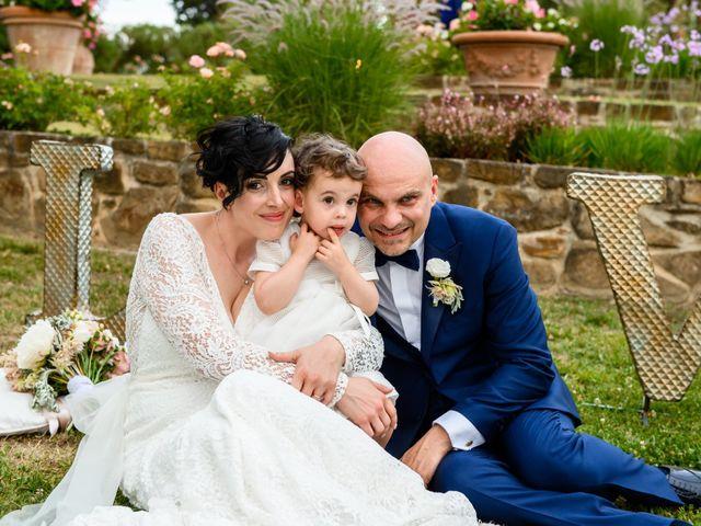 Il matrimonio di Gianluca e Letizia a Montespertoli, Firenze 39
