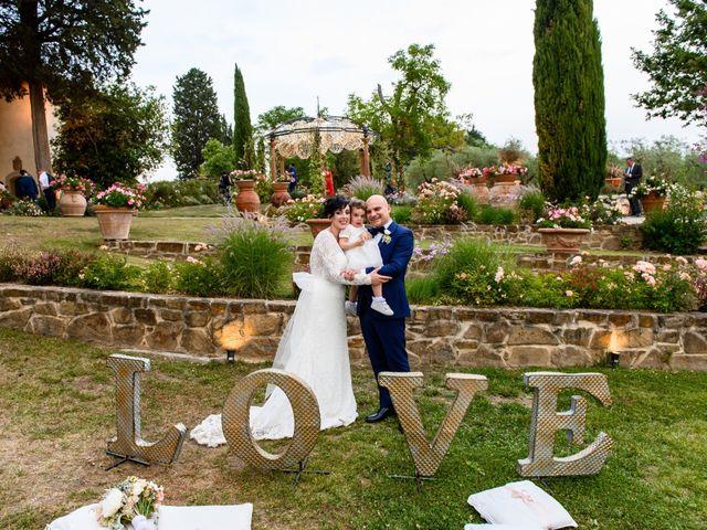 Il matrimonio di Gianluca e Letizia a Montespertoli, Firenze 40