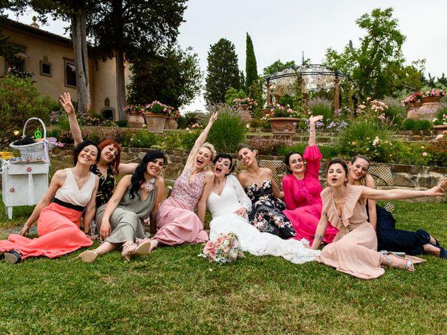 Il matrimonio di Gianluca e Letizia a Montespertoli, Firenze 41