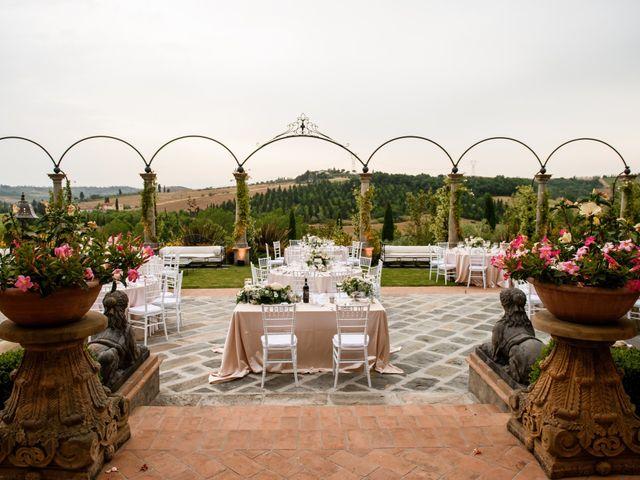 Il matrimonio di Gianluca e Letizia a Montespertoli, Firenze 43