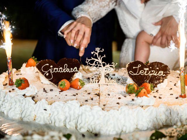 Il matrimonio di Gianluca e Letizia a Montespertoli, Firenze 54