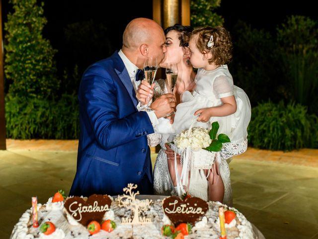 Il matrimonio di Gianluca e Letizia a Montespertoli, Firenze 55