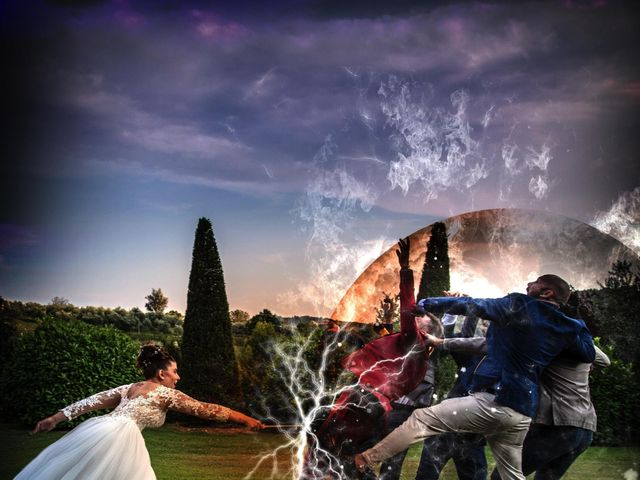 Il matrimonio di Michele e Giulia a Breno, Brescia 13