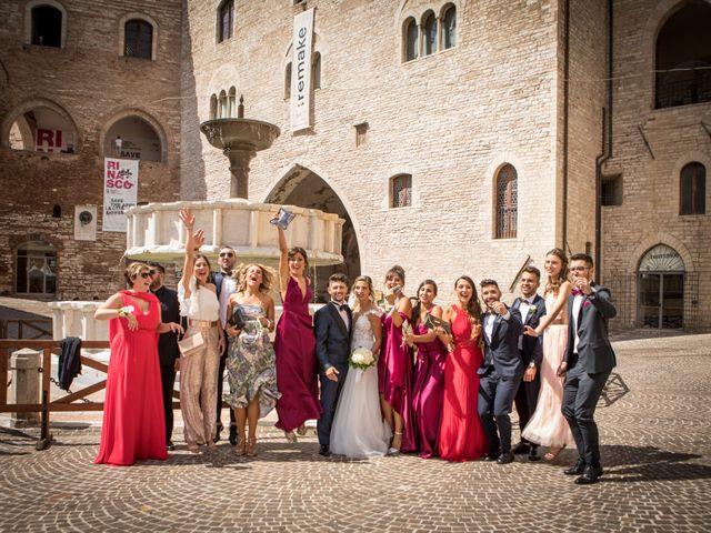 Il matrimonio di Claude  e Alessia a Fabriano, Ancona 19