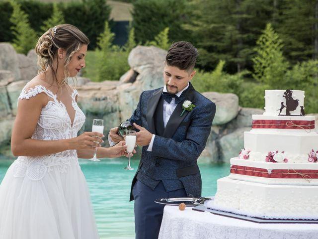 Il matrimonio di Claude  e Alessia a Fabriano, Ancona 27
