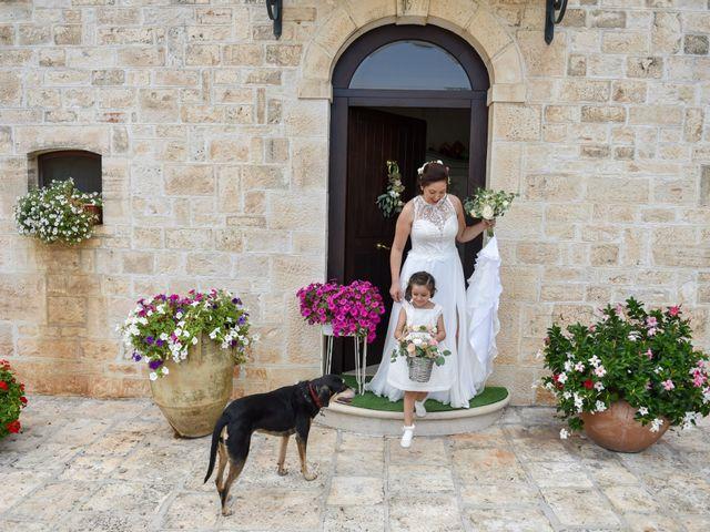 Il matrimonio di Rosamaria e Matteo a Cisternino, Brindisi 7