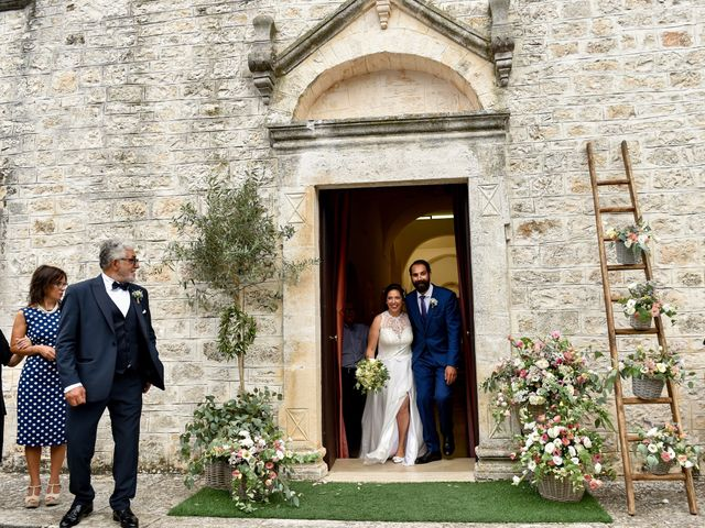 Il matrimonio di Rosamaria e Matteo a Cisternino, Brindisi 27
