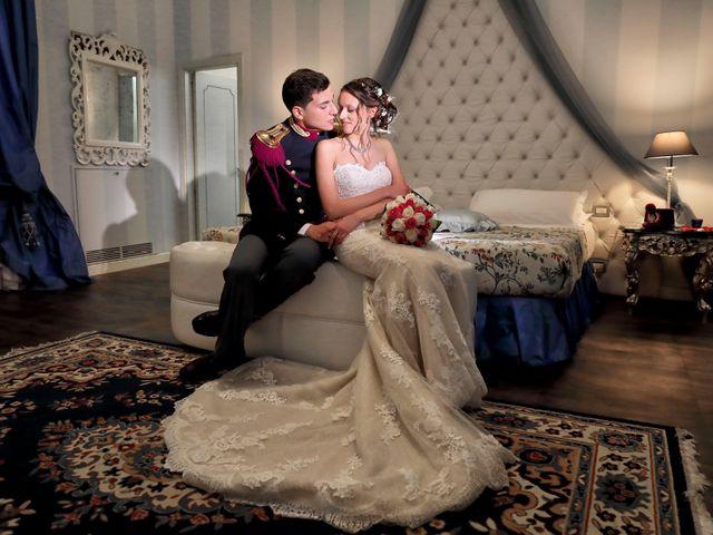 le nozze di Sveva e Carmelo