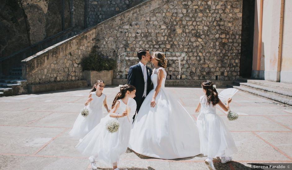 Il matrimonio di Marco e Valeria a Amalfi, Salerno