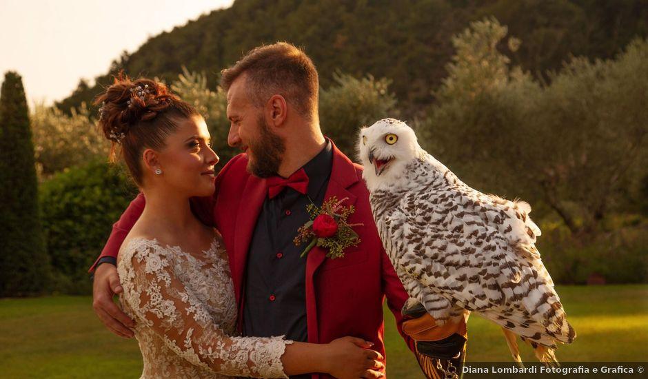 Il matrimonio di Michele e Giulia a Breno, Brescia
