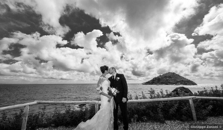 Il matrimonio di Walter e Daniela a Monte Argentario, Grosseto