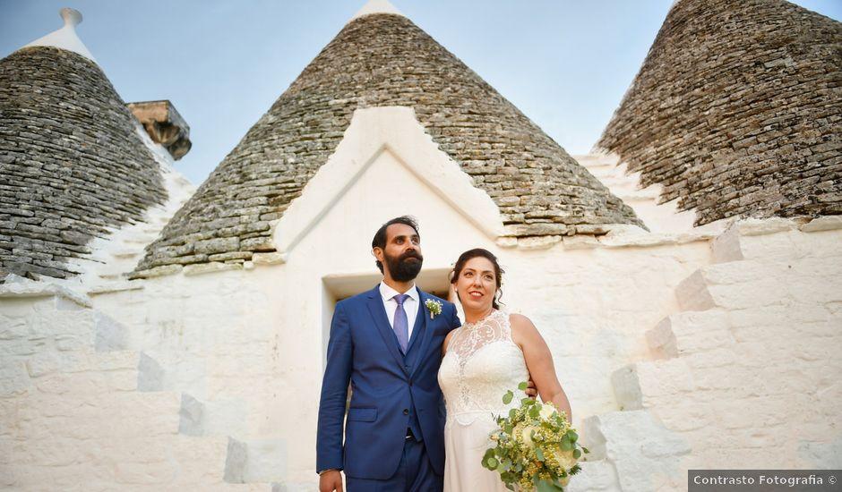 Il matrimonio di Rosamaria e Matteo a Cisternino, Brindisi