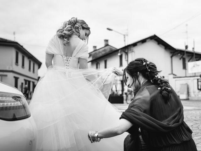 Il matrimonio di Alessandro e Michela a Torre d'Isola, Pavia 23