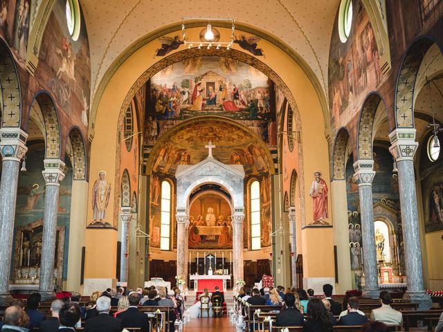 Il matrimonio di Alessandro e Michela a Torre d'Isola, Pavia 32