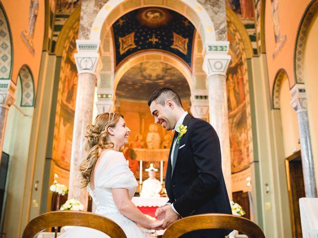 Il matrimonio di Alessandro e Michela a Torre d'Isola, Pavia 41