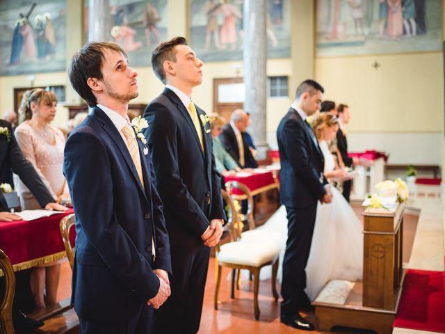 Il matrimonio di Alessandro e Michela a Torre d'Isola, Pavia 42
