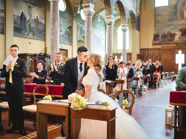 Il matrimonio di Alessandro e Michela a Torre d'Isola, Pavia 47