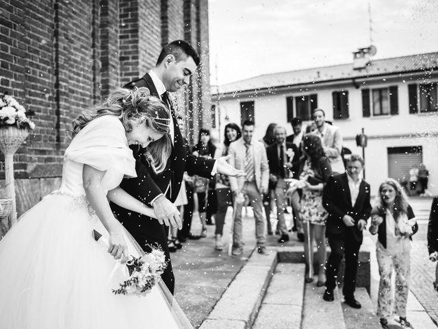 Il matrimonio di Alessandro e Michela a Torre d'Isola, Pavia 50