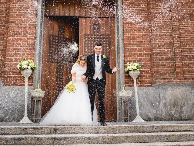 Il matrimonio di Alessandro e Michela a Torre d'Isola, Pavia 51