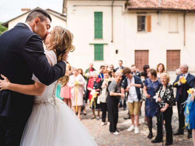 Il matrimonio di Alessandro e Michela a Torre d'Isola, Pavia 52