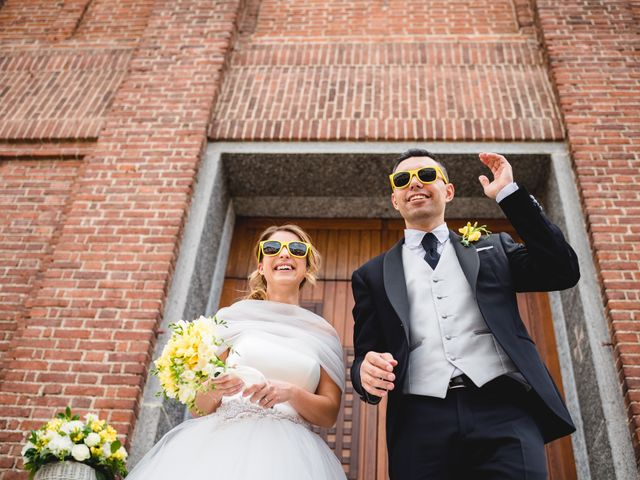 Il matrimonio di Alessandro e Michela a Torre d'Isola, Pavia 53