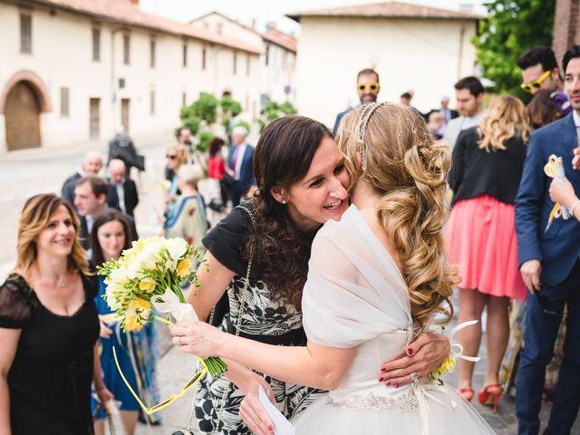 Il matrimonio di Alessandro e Michela a Torre d'Isola, Pavia 54