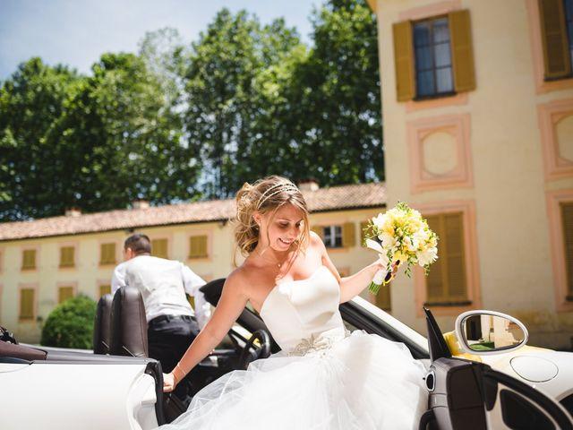 Il matrimonio di Alessandro e Michela a Torre d'Isola, Pavia 71